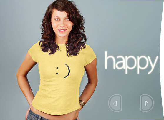 Emoticon T-Shirts Happy